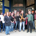 Salon Brandon Jay Ribbon Cutting