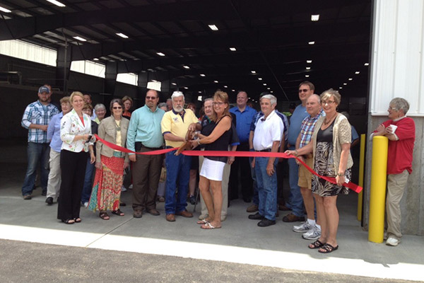 Allegan County Fair Ribbon Cutting