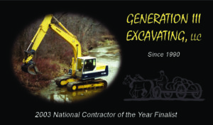 Generation lll Excavating
